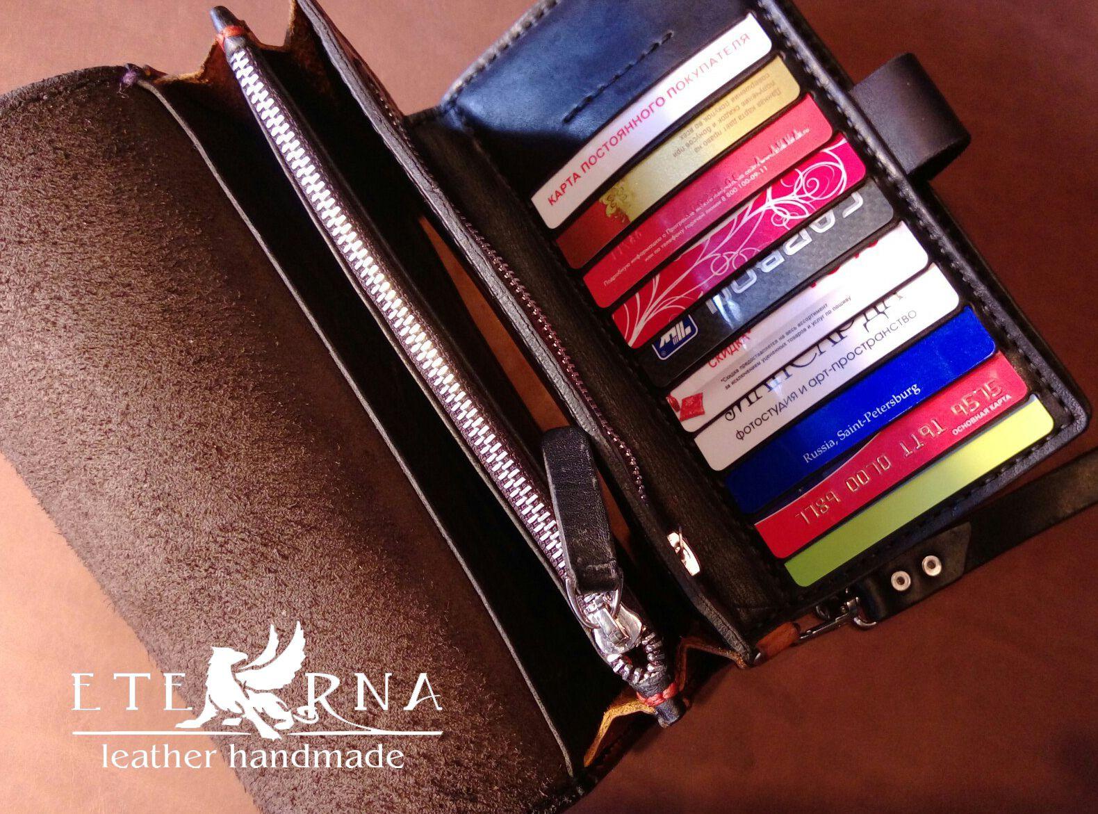 eathercraft изделияизкожи leater кошелек портмоне браслет картхолдер eterna назаказ сумки клатч сумкамужская держательдлякупюр