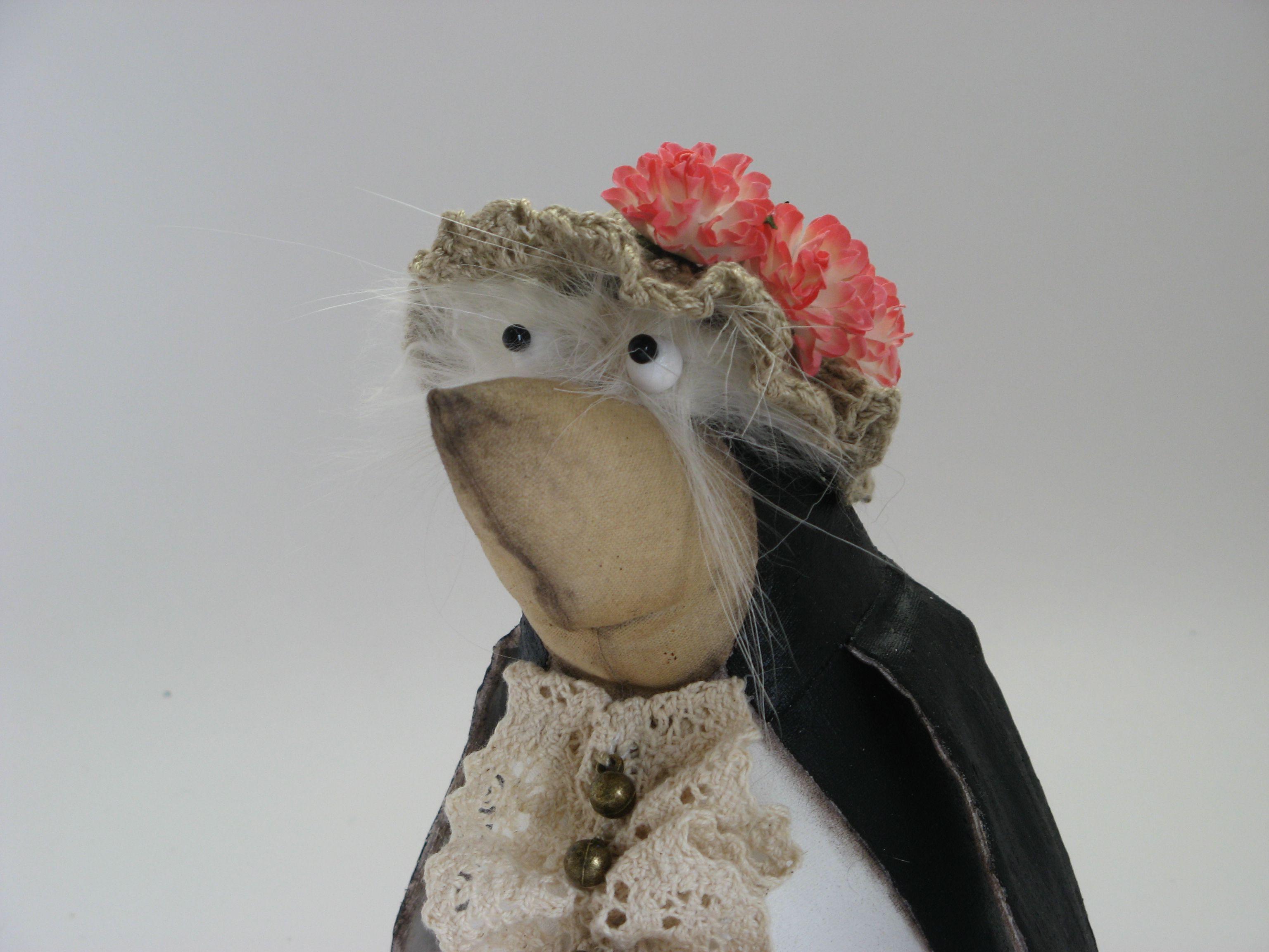 ручнойработышитыеигрушкиптицы пингвинтекстильныеигрушкикуклы