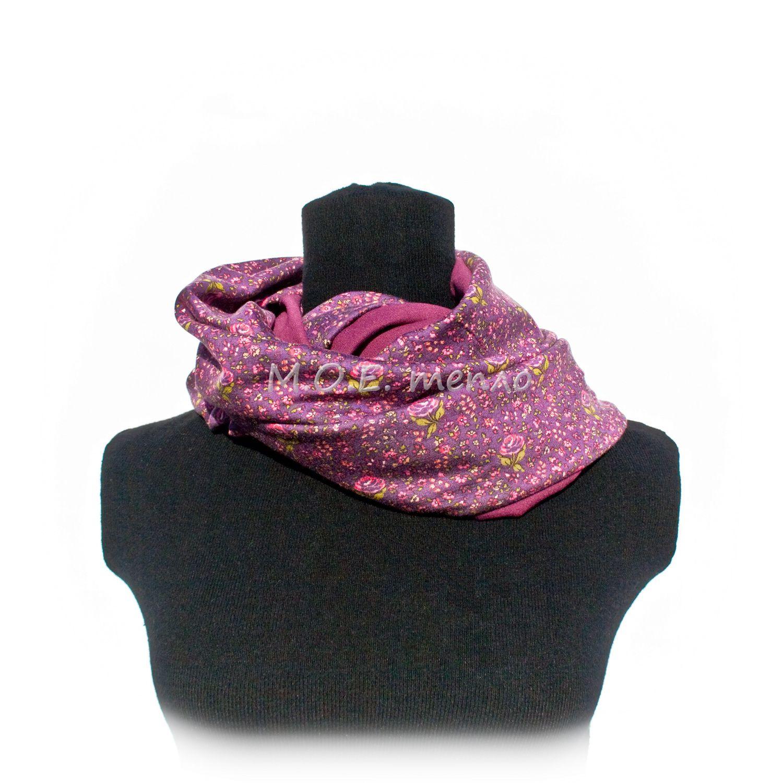 аксессуар шарфы стильно торжественно шапка снуд брусника шапки шарф женственно аксессуары тепло красиво элегантно модно моетепло снуды двойныеснуды