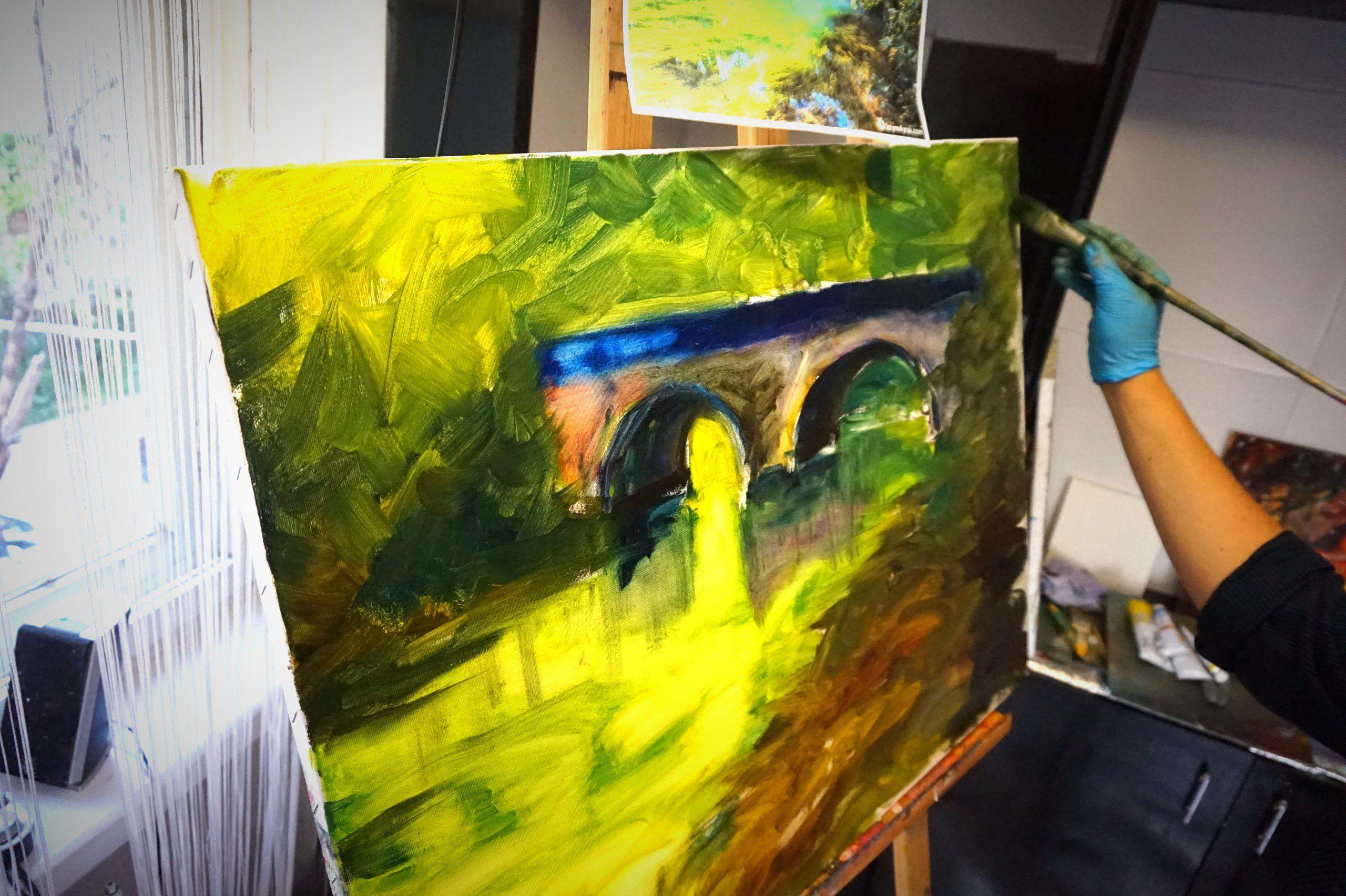 артстудия фаza двигает вмассы живопись искусство севастополь импрессионизм