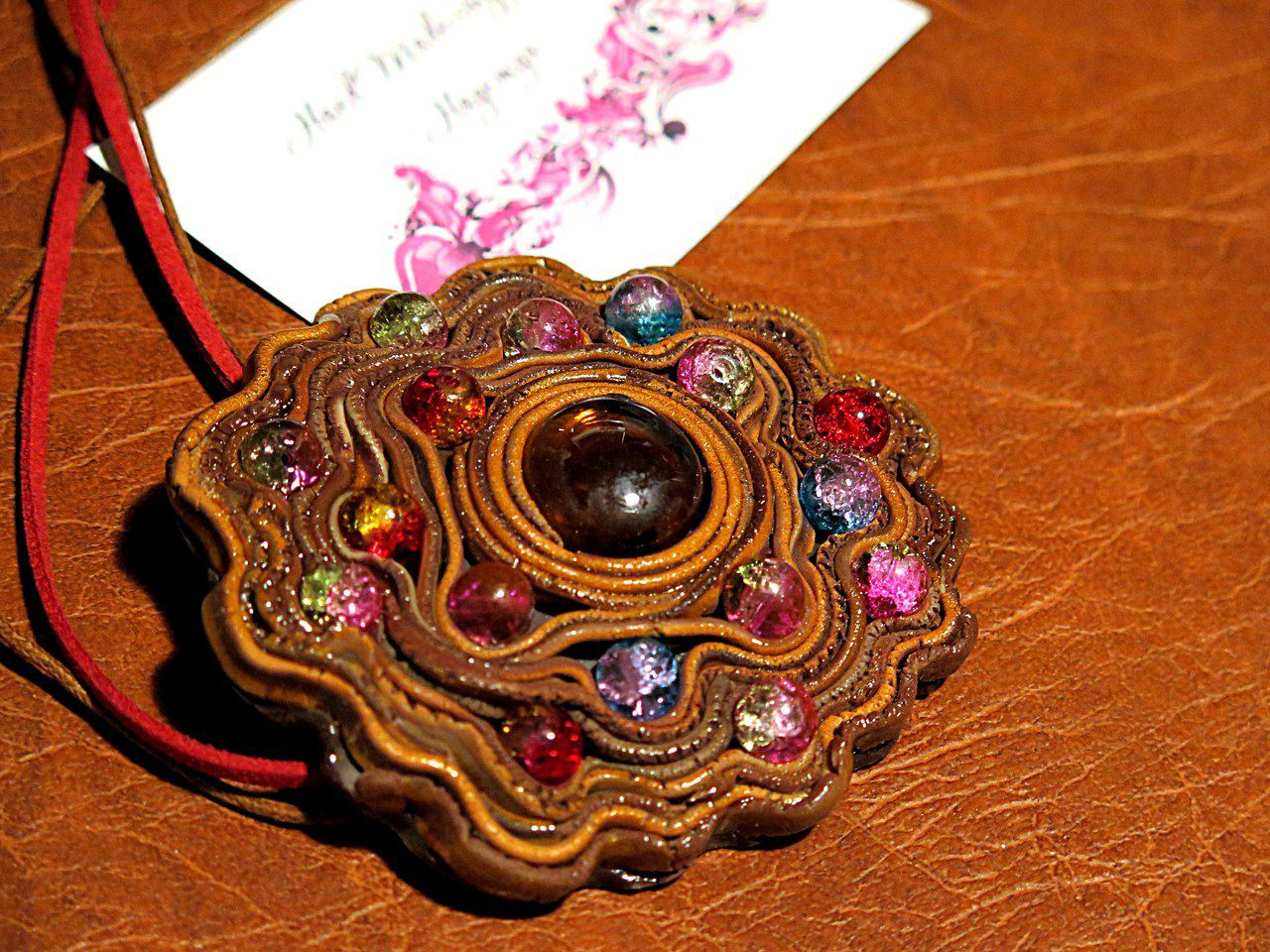 кулон бижутерия подарок украшение