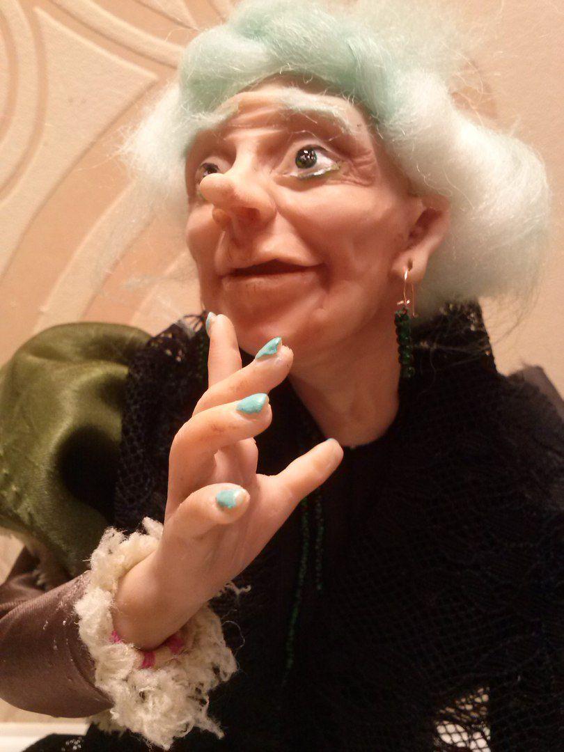 новый баба кикимора сказка год яга праздник кукла подарок