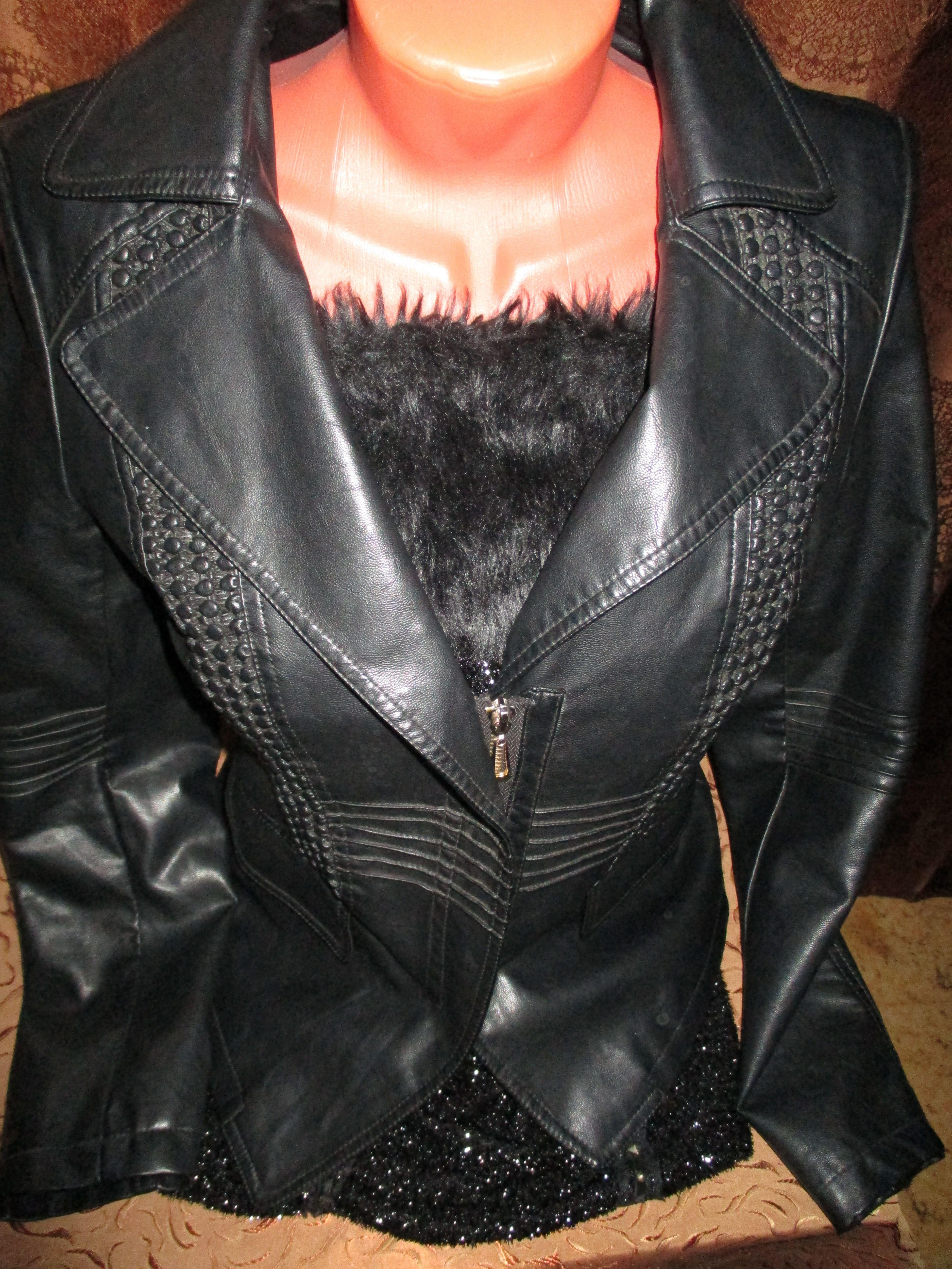 кожаная куртка топ кожанка
