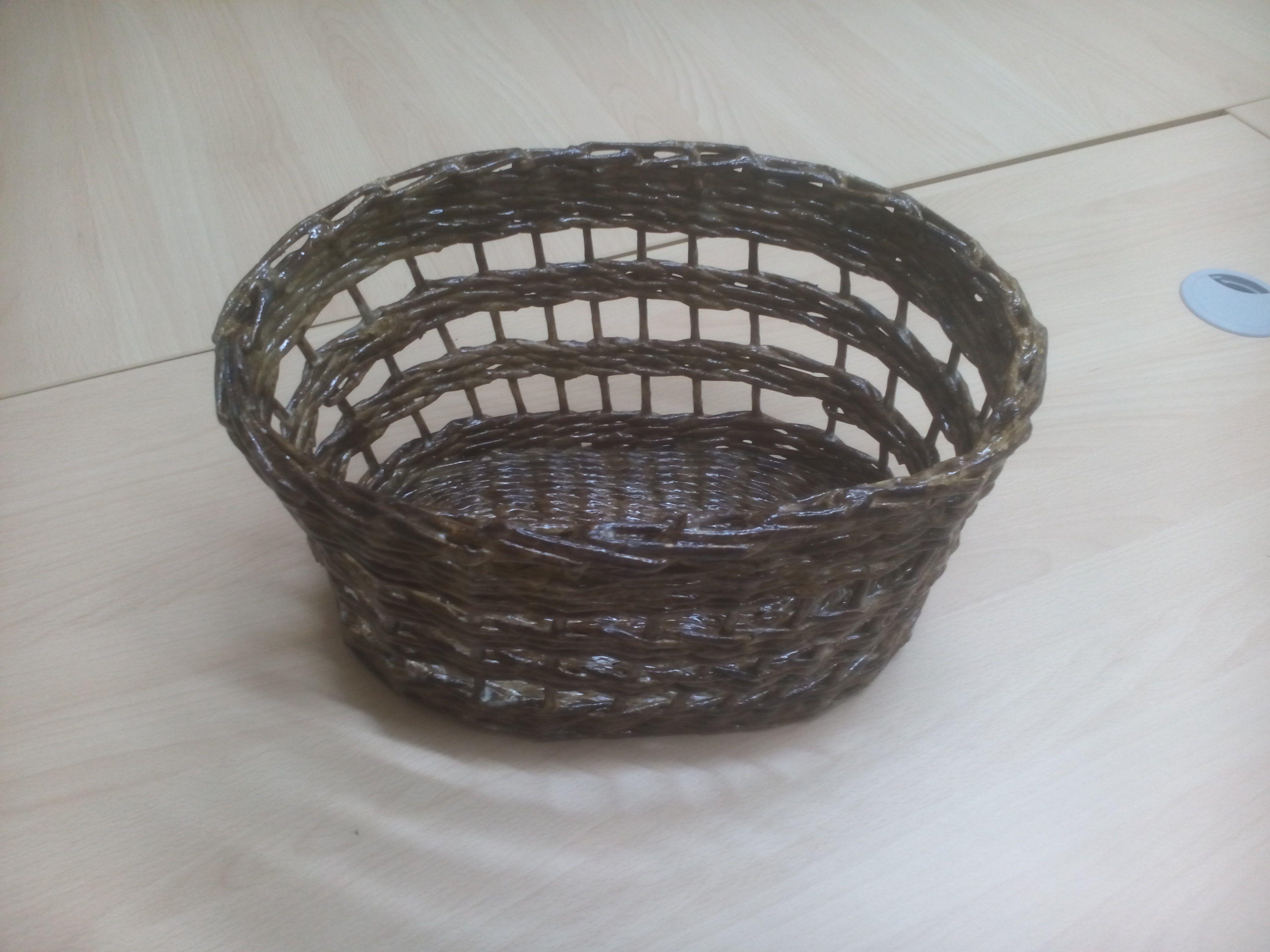 плетение корзинка