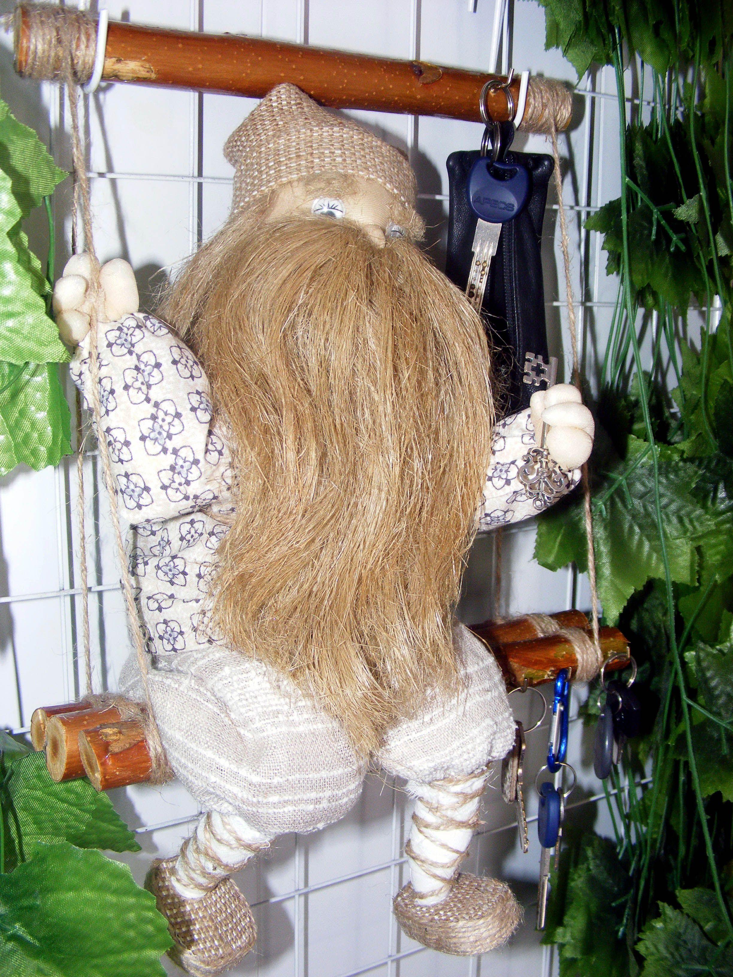 ручнаяработа кукла оберег интерьер домовой ключница