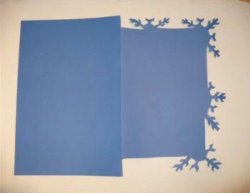 Рождественские открытки своими руками 7