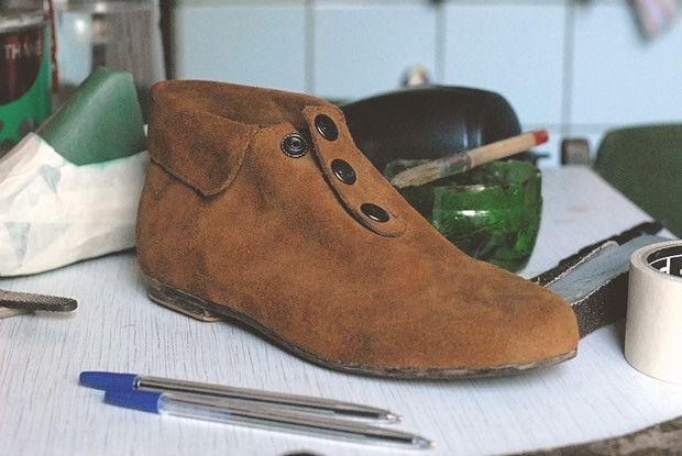 обувь руками своими