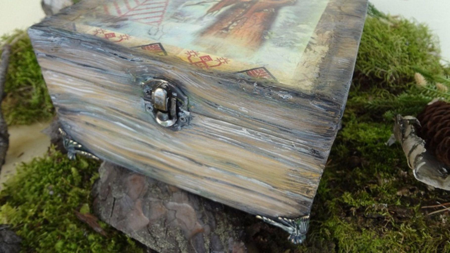 старое женщине подарок старинная шкатулка мужчине ручной работы дерево