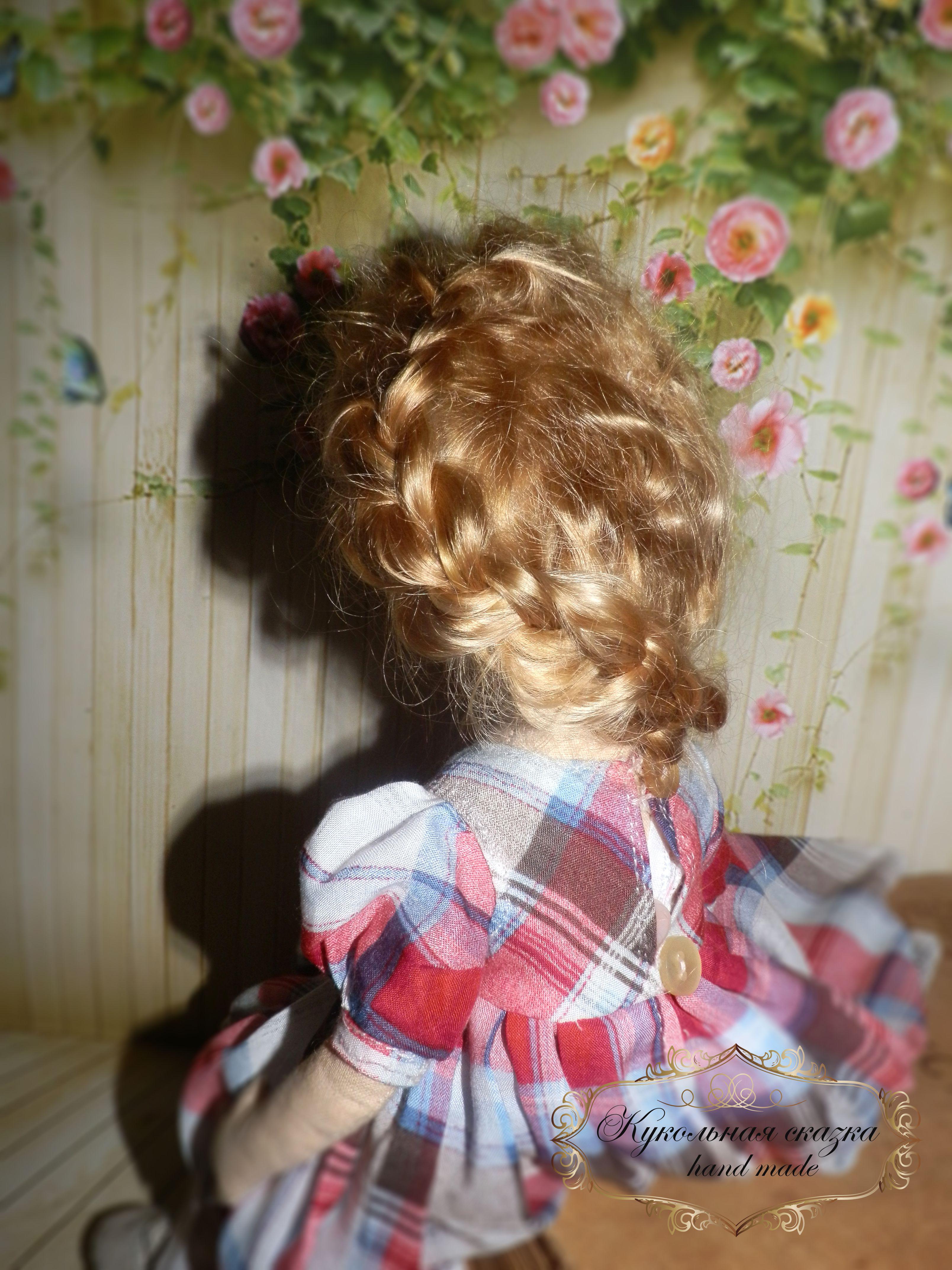 авторская подарок кукла работа ручная handmade в