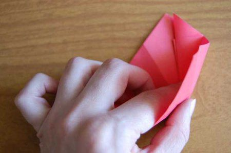 Оригами из бумаги цветы 25