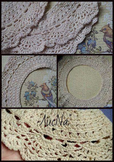 ручнаяработа вязание воротник handmade украшения