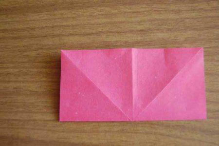 Оригами из бумаги цветы 6