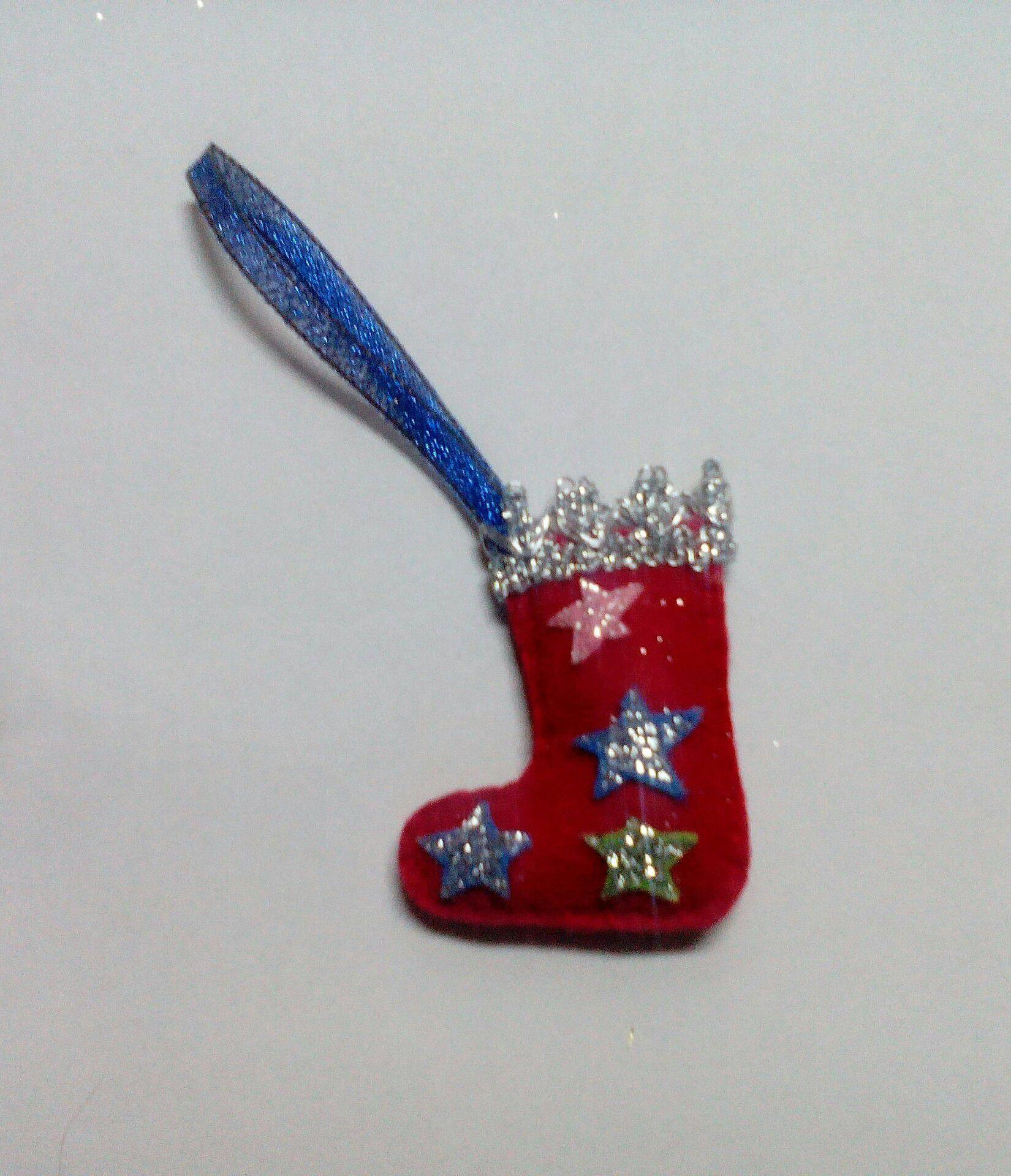 made подарки звёздочки hand фетр тесьма новый год дети