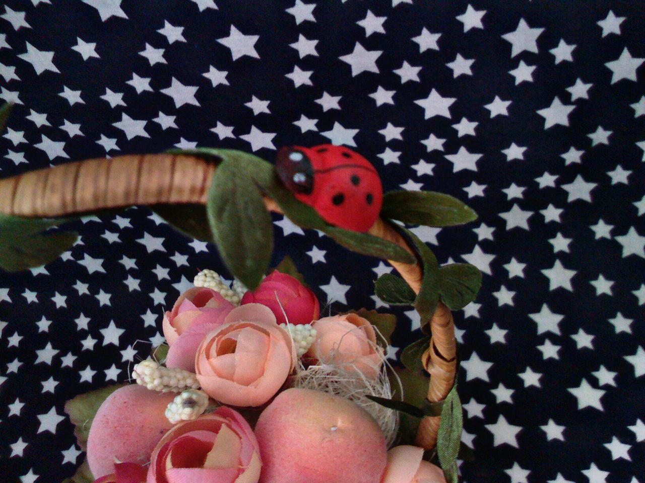 декор своимируками цветы