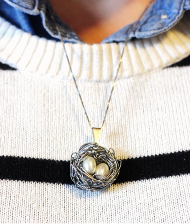 подарков гнездо рукамибижутерия подарки подвеска идеи кулон своими сделай сам
