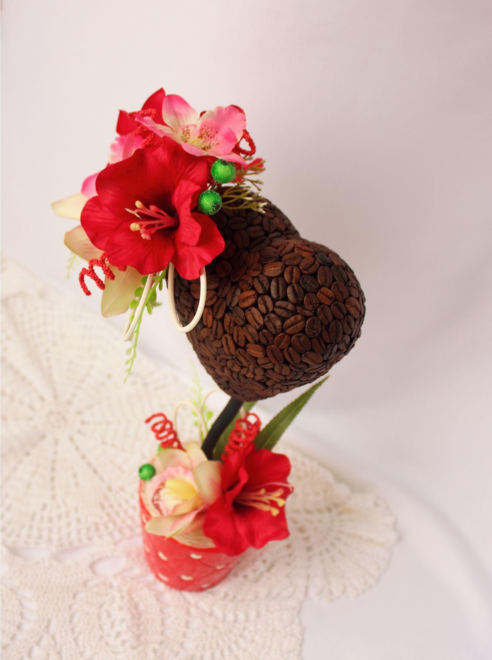 красивыйподарок украшениеинтерьера деревосчастья топиарий