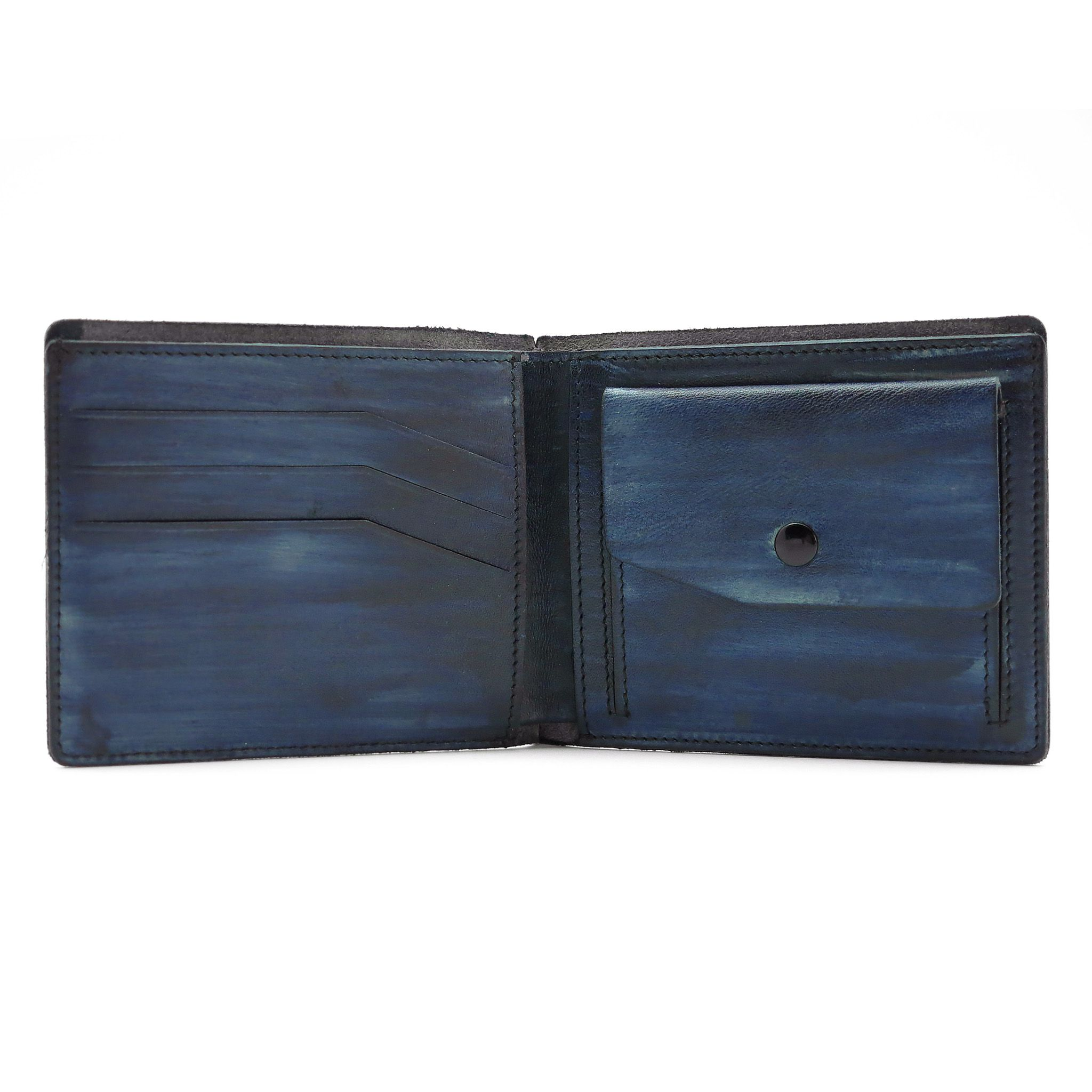 кожаное мужское портмоне handmade cangurione