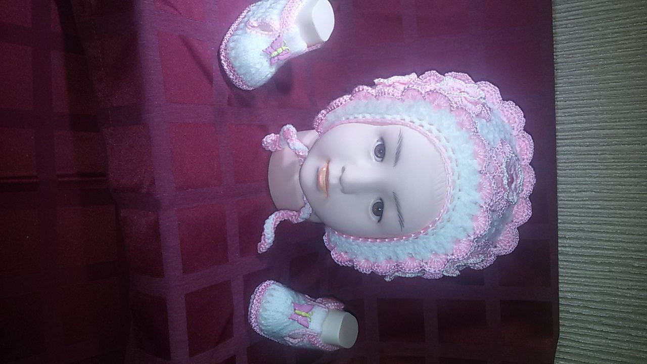 рождение бонет новорождных новорожденной бежевые детская на девочки цвет новорожденных детские чепчик принцессы комплект фотосъемка детей фотосессий крючком пинетки вязаный вязаные реквизит туфельки сандалики для бежевый аксессуары шапочка новорожденного подарок детской фотосессии шоколадный боннет малышей вязаная балетки