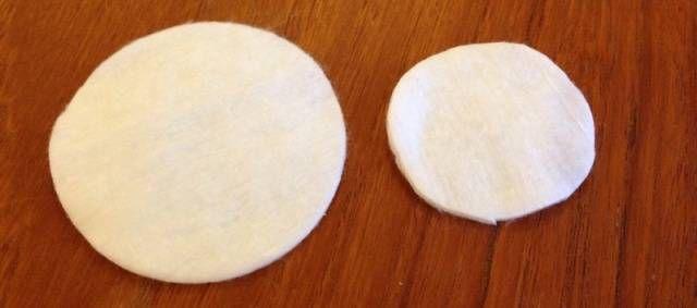 Поделки из ватных дисков 6