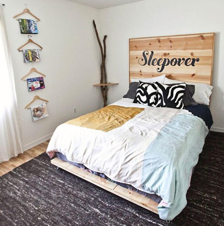 мастерим дерева быт домашний из кровать руками своими