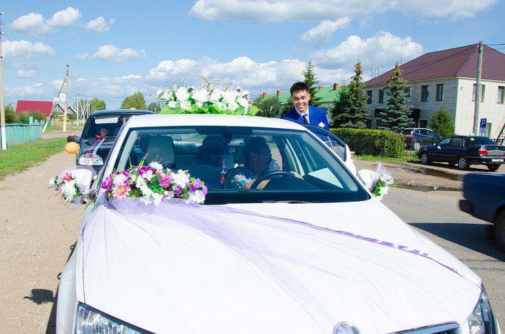 кортеж украшения свадьба
