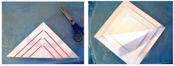 Снежинки из бумаги своими руками 10
