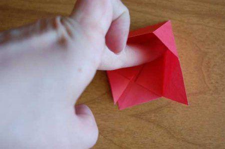 Оригами из бумаги цветы 31