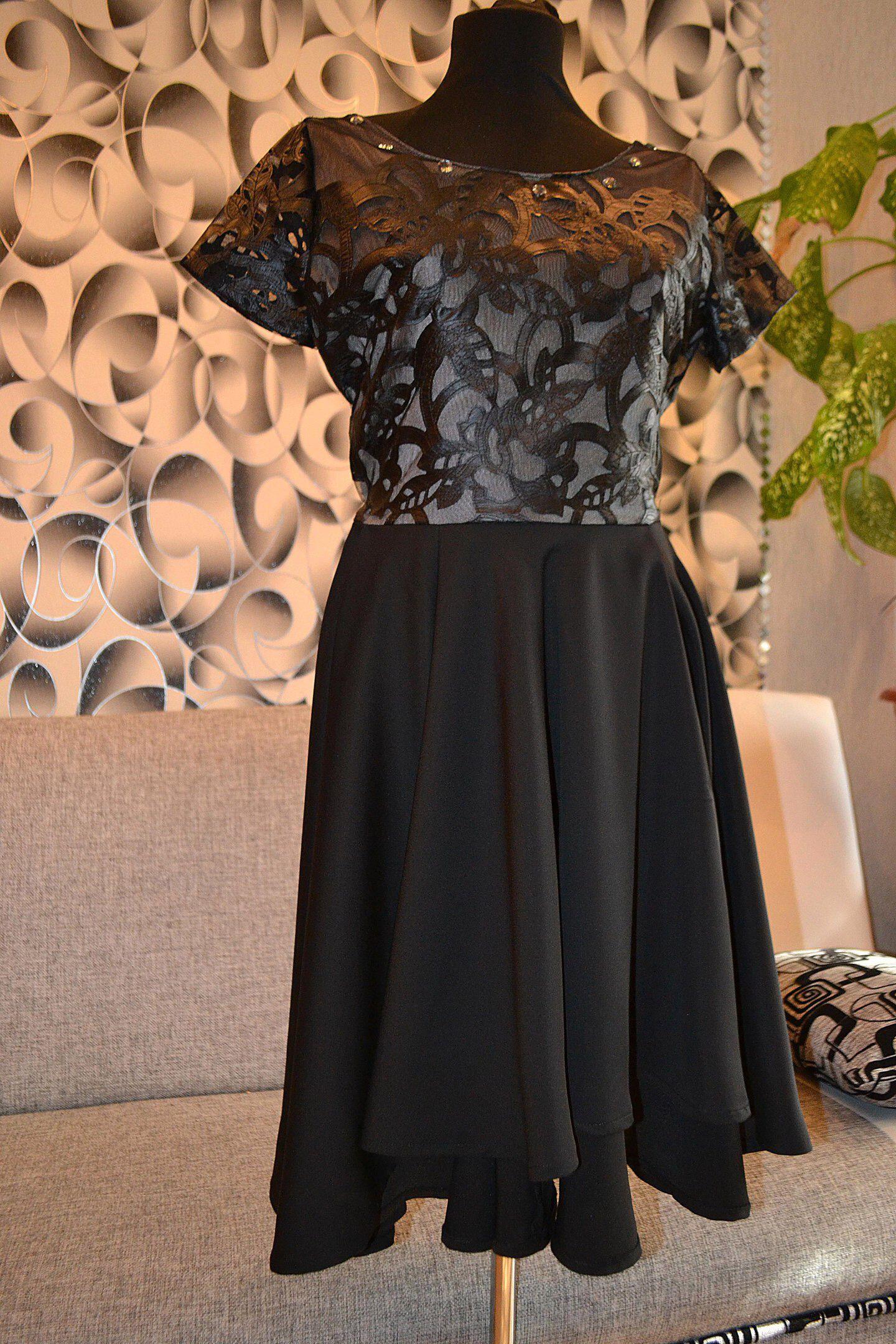 черноеплатье кожаное кружево выпускной чёрное из на вечернее 2017 платье кожи строгое