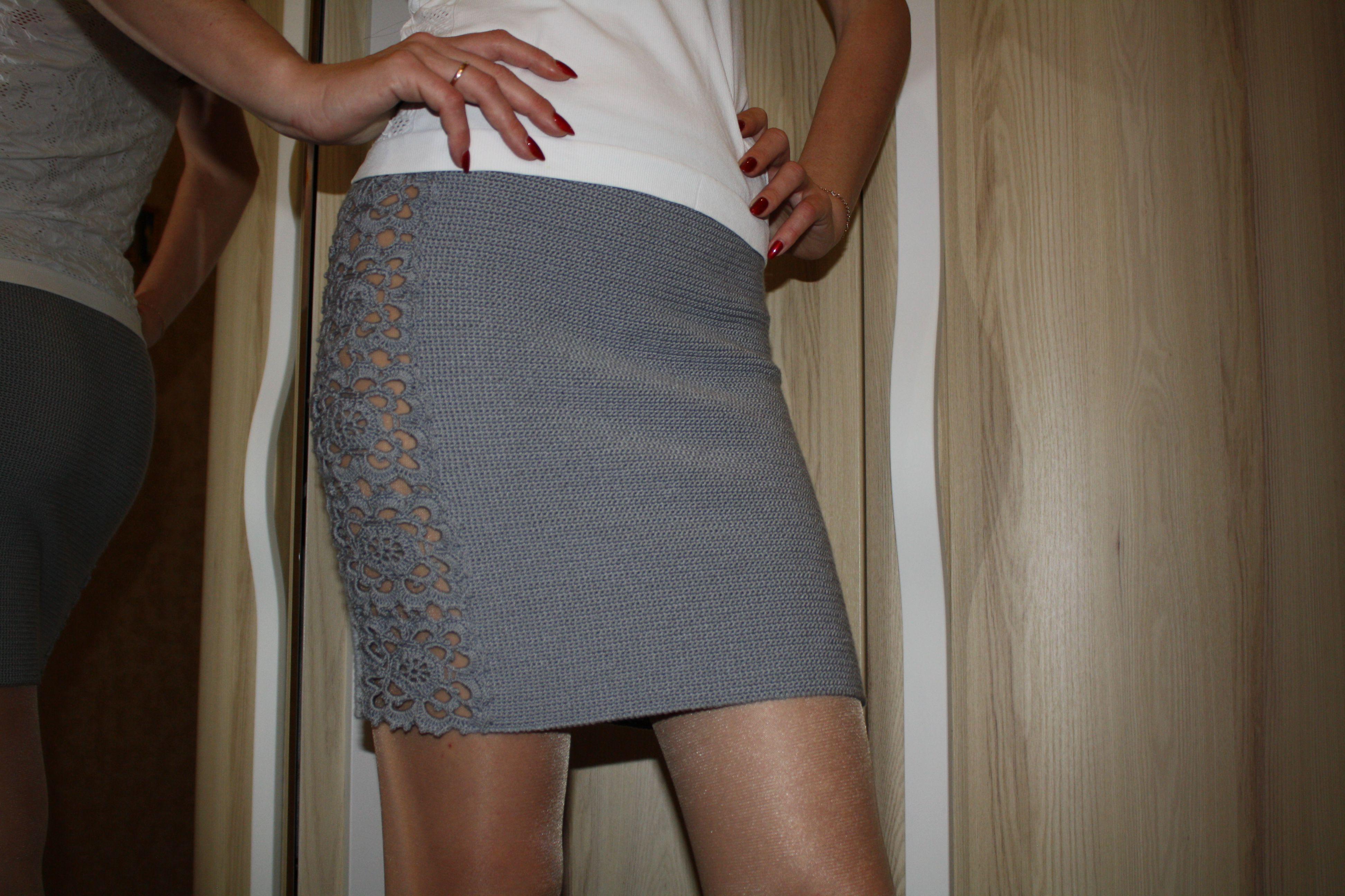 стрейч элегантный крючком юбка секси одежда вязаная образ кружева для стильно красивая женщин