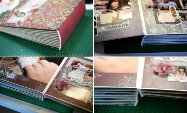Альбом скрапбукинг мастер класс 12