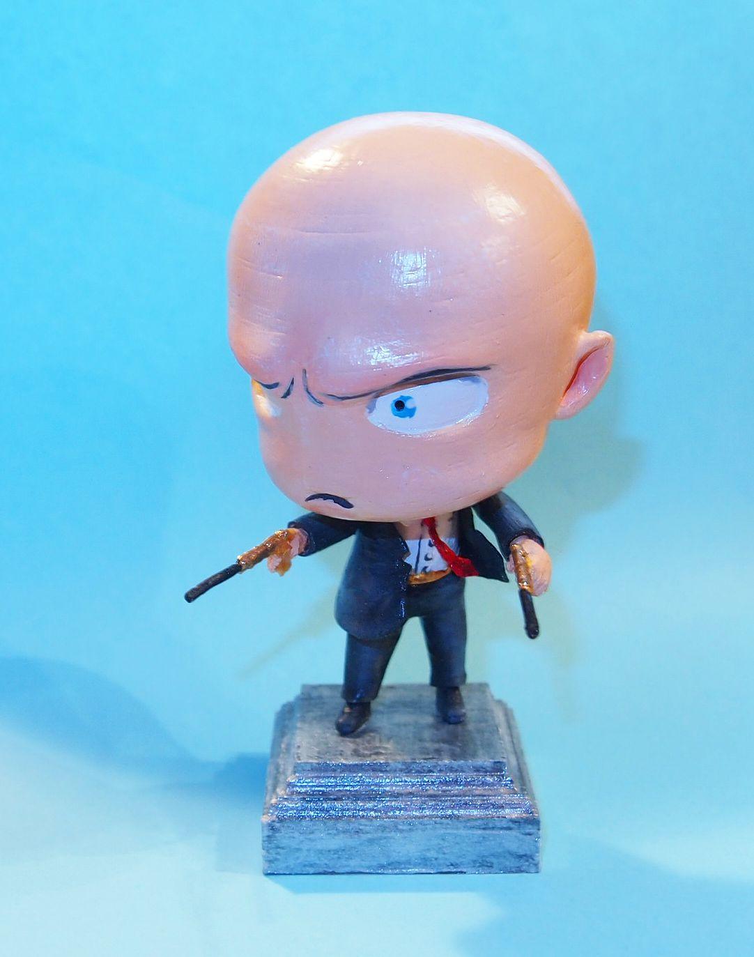 игрушка фигурка сувенир hitman аниме няшка статуетка чиби анимэ подарок подарки