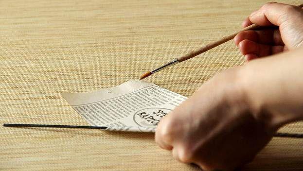 Плетение из газет 8