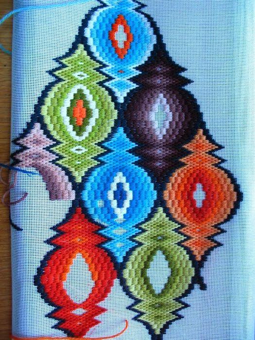 вышивка декор интерьер ручнаяработа нитки