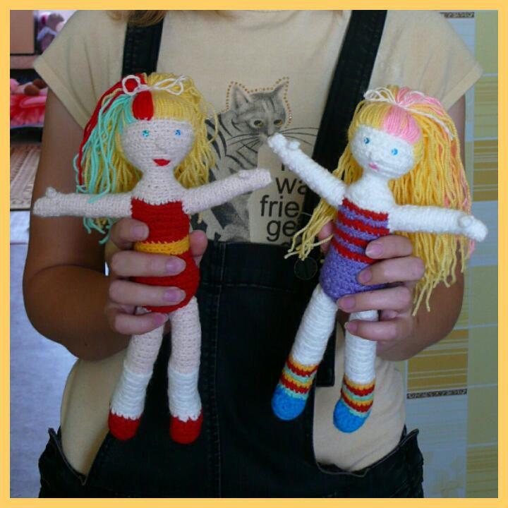 красивые игрушки куклы вязаные надежные