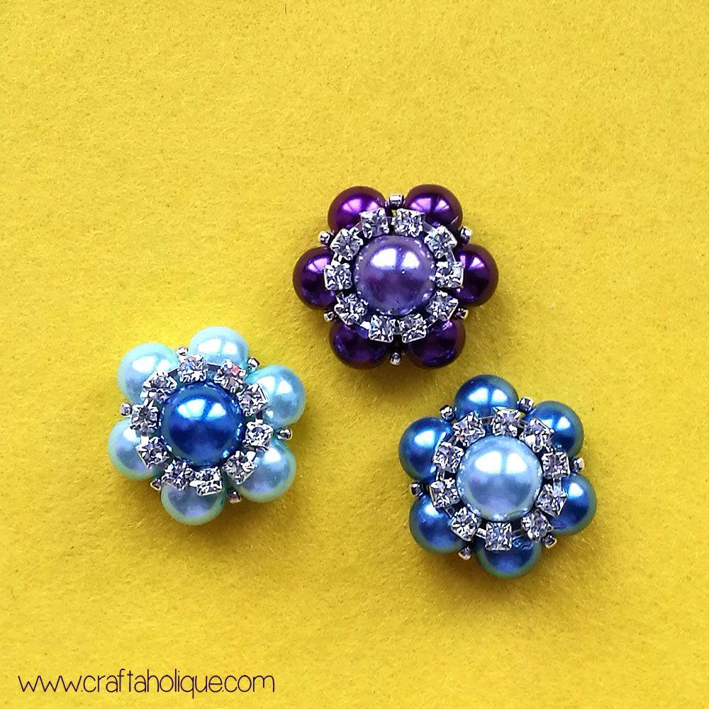 бусин класс декор поделки бижутерия из мастер руками цветок своими