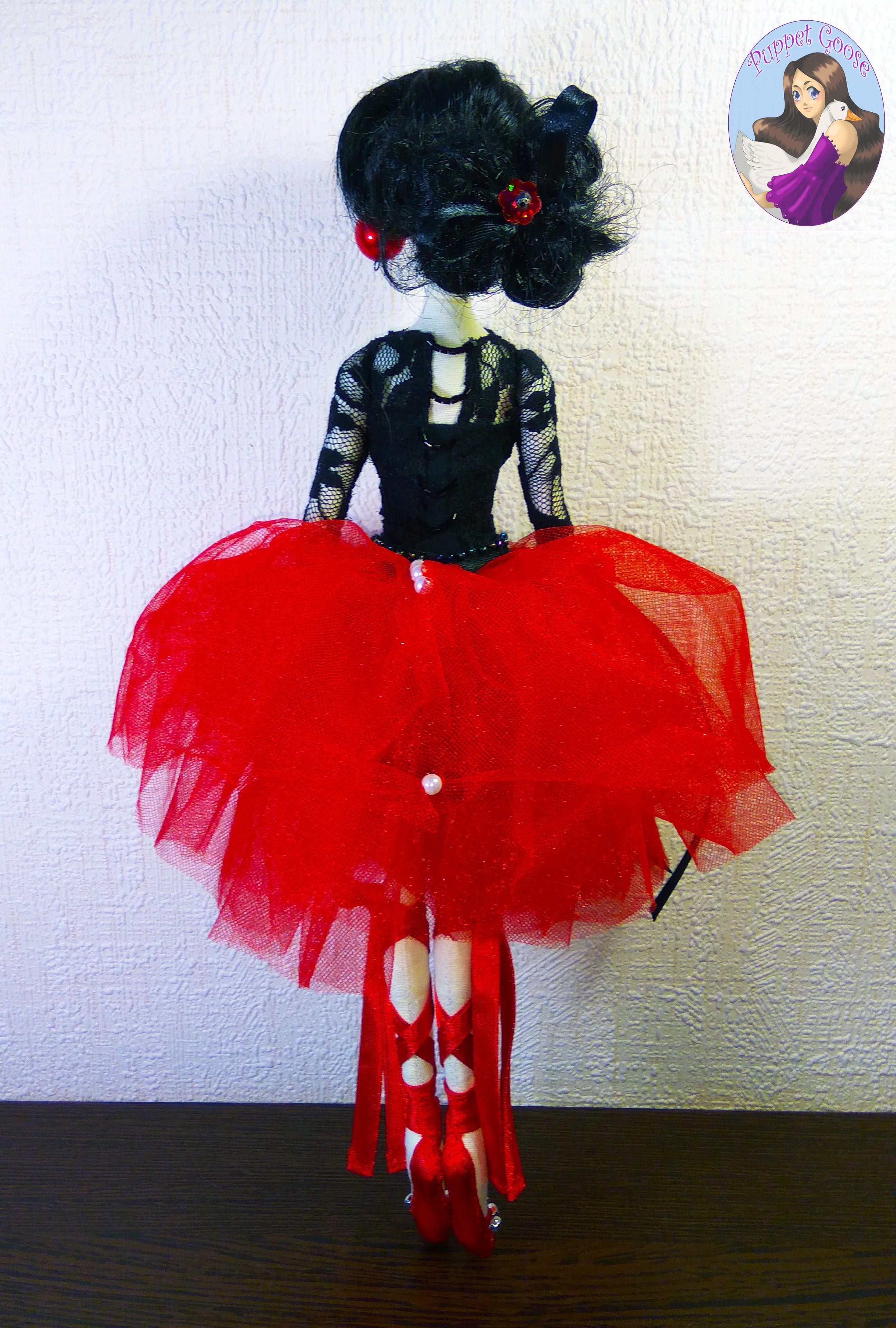 текстильная балерина кукла тряпиенс