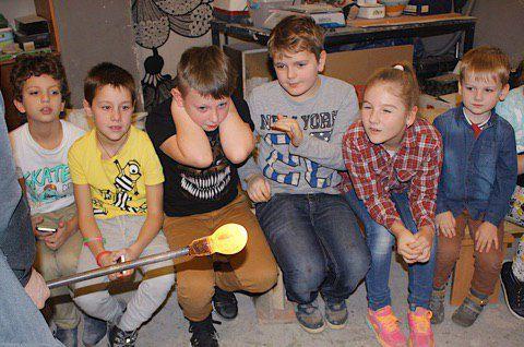 стекло искусство стеклодув детей для мастеркласс