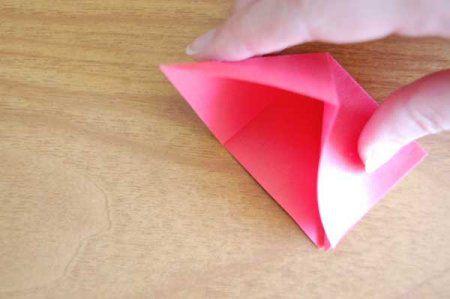Оригами из бумаги цветы 11