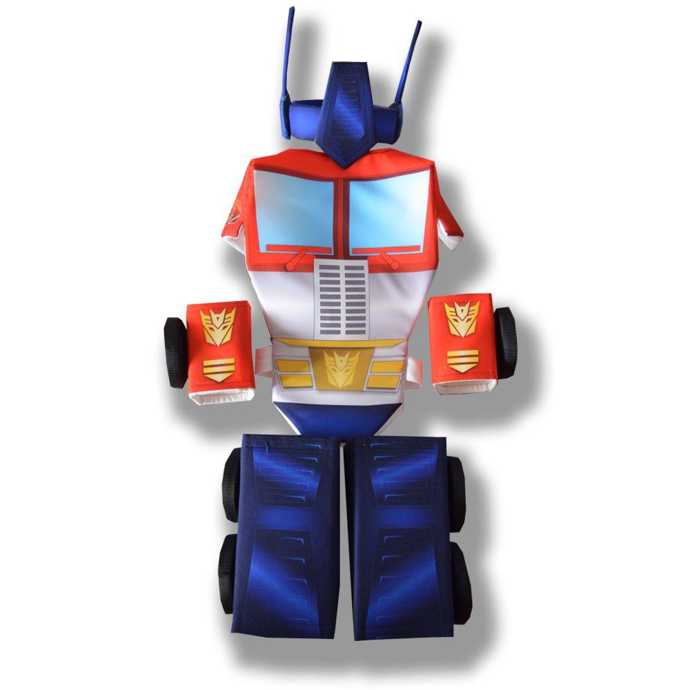 робот синий грузовик костюм новогодний карнавальный колеса оптимус красный детский машина трансформер