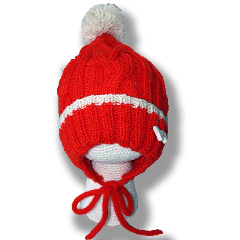 северный косами колпачок рыжая мандариновая связанные севере спицами оранжевая помпон ретро и яркая шапка аксессуары мишка подвеска ручная детские детям шляпы шапки продажа купить шапочка косы работа белый на умка