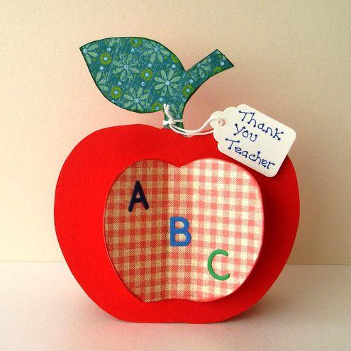 поделки бумажные мастеркласс открытка яблоко