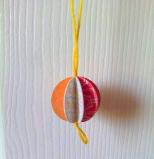 Новогодние шары своими руками 10