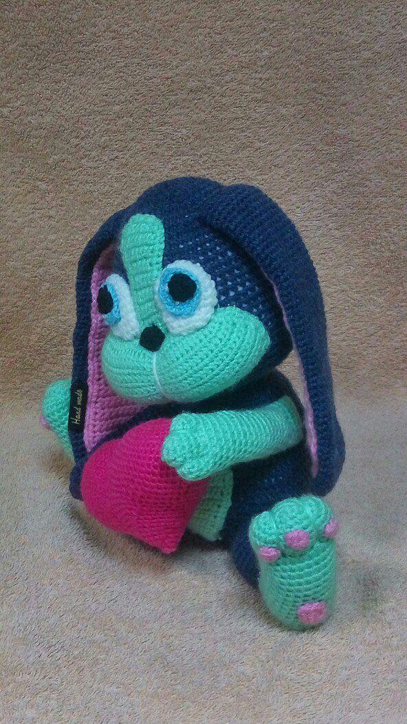 игрушки игрушка работа заказ ручная для мягкая заяц амигуруми handmade вязаная детей