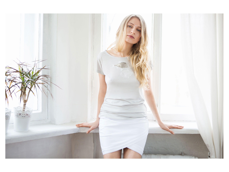 рыбки футболка эвкалипт ksusharaikova одежда бренд принт