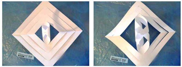 Снежинки из бумаги своими руками 11