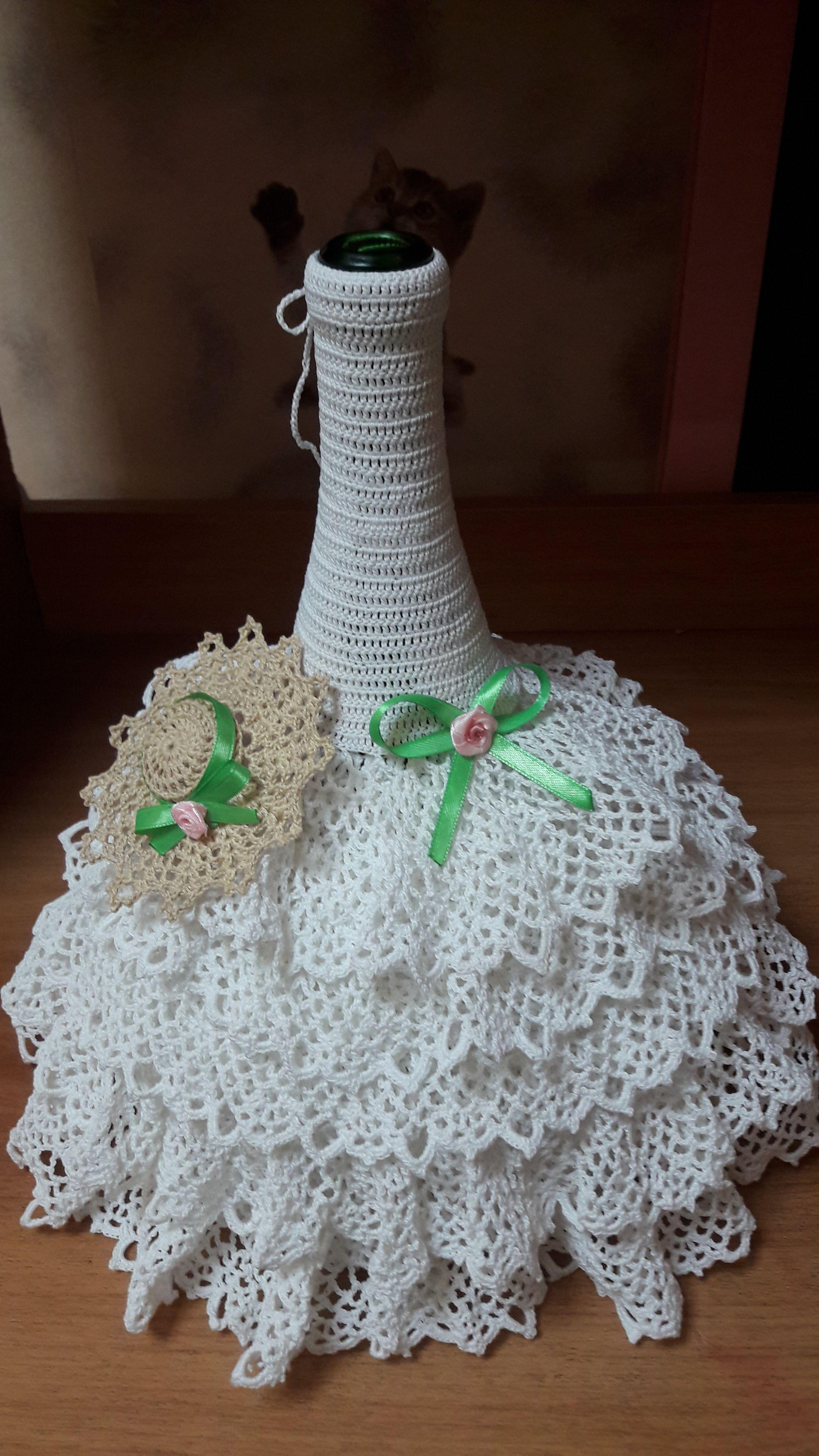 на шампанское платье бутылку одежда свадьба