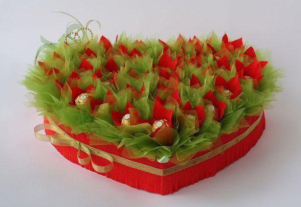 конфеты букеты ручная подарок