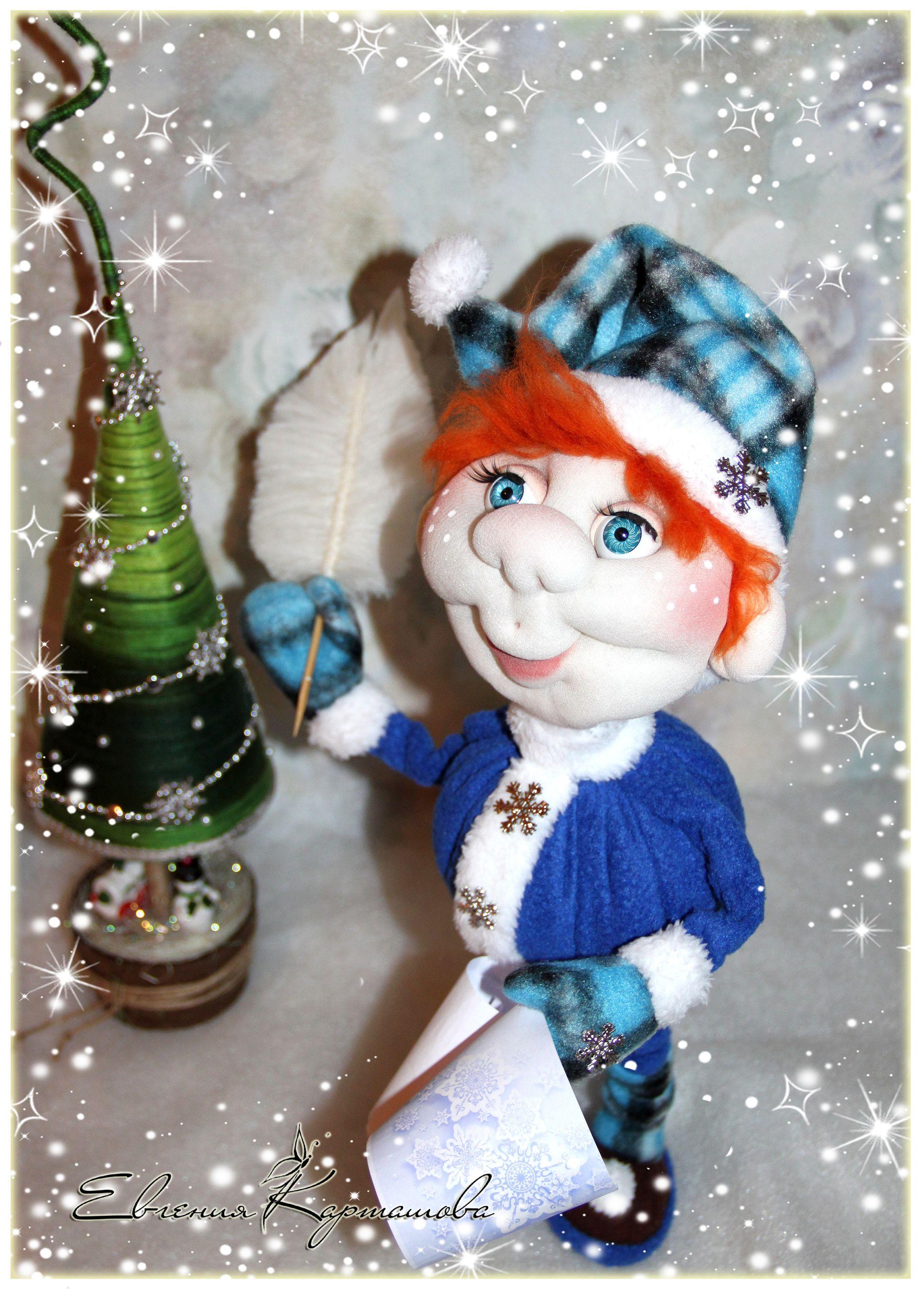 скульптурный из кукла работа ручная текстиль капрона