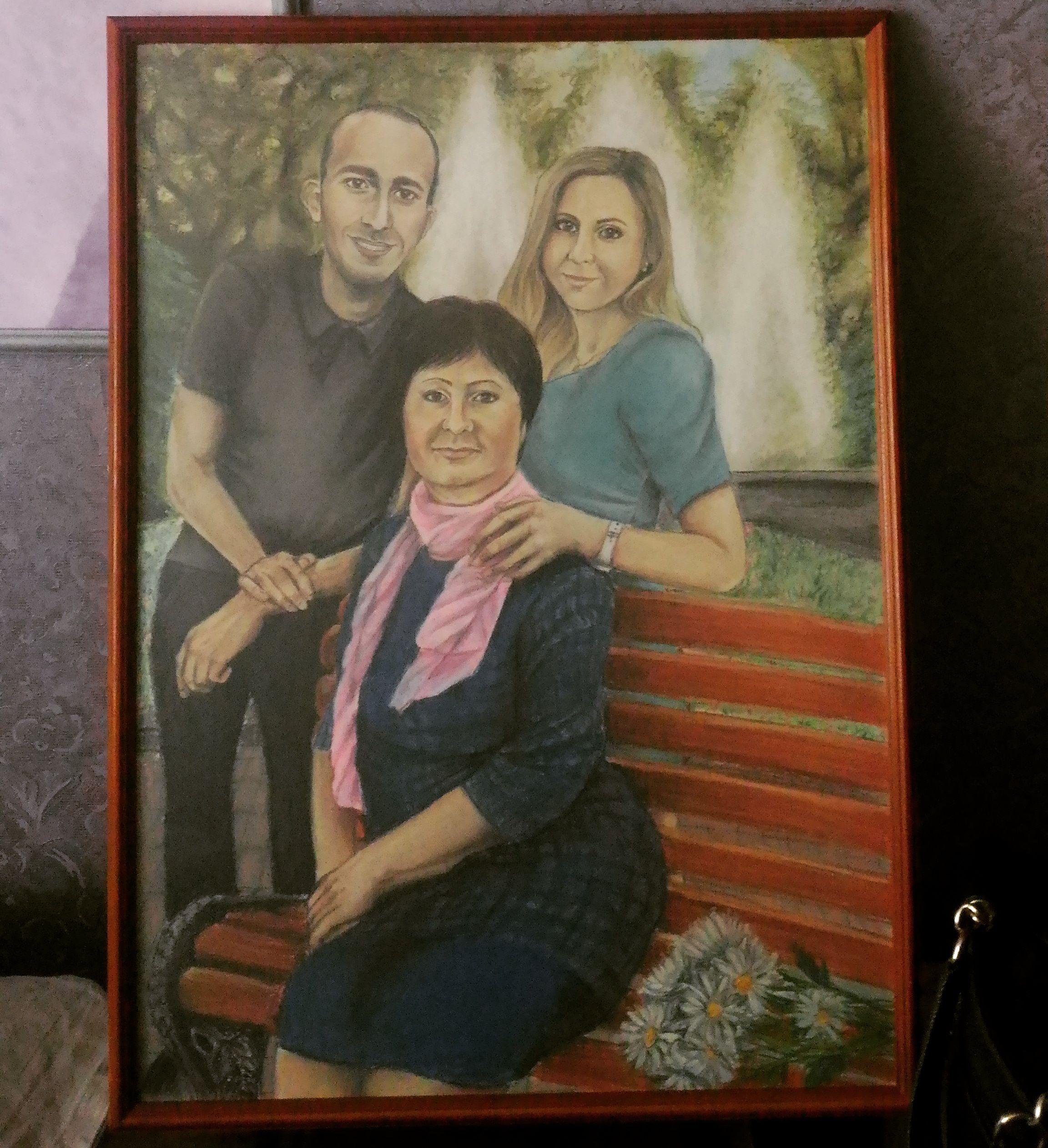 портрет питер спб подарок художник рисунок ручная работа картина чтоподарить