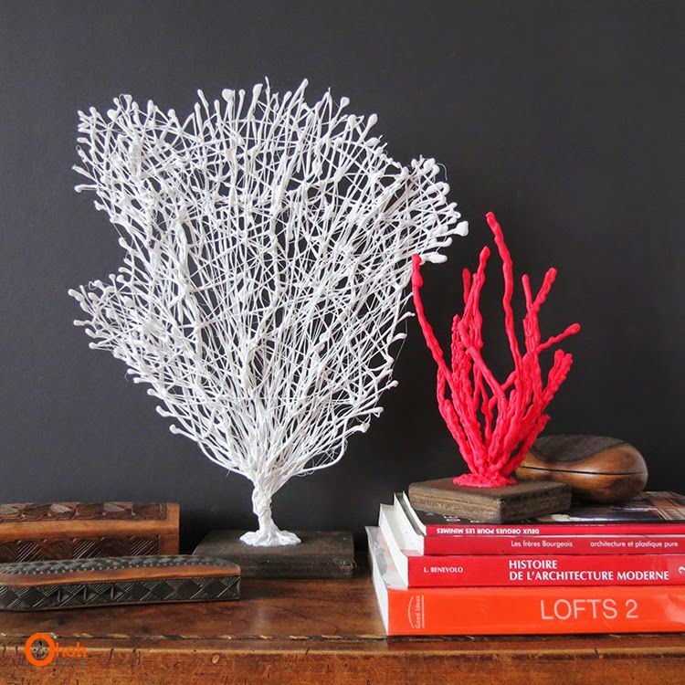 дома кораллы подарки декор для идеи руками своими